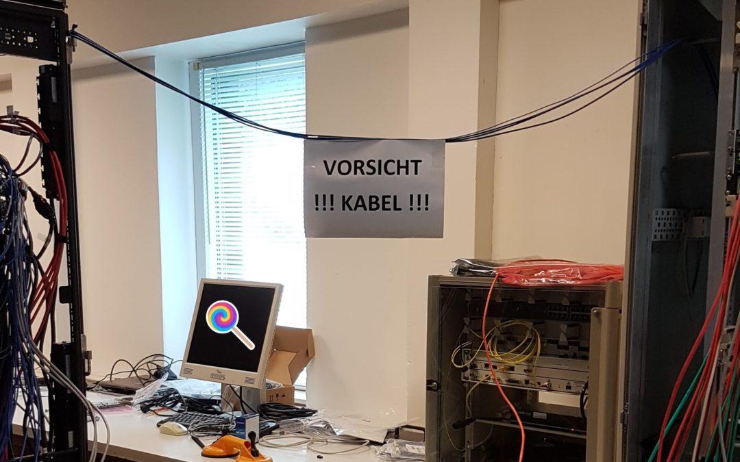 Projekt numero uno – Halbzeit !