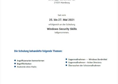 baramundi - Windows Security Skills